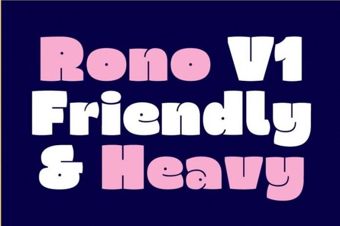 Rono Font