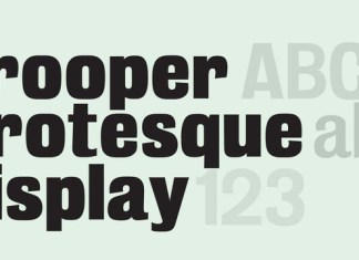 Trooper Grotesque Font Family