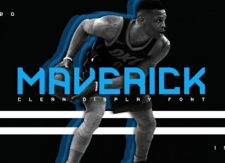 Maverick Clean Display Font