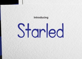 Starled Script Font