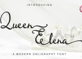 Queen Elena Font