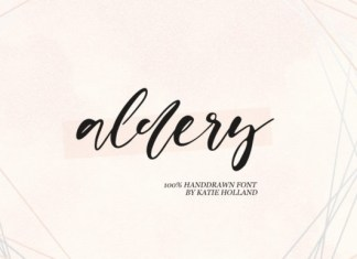 Aldery Font