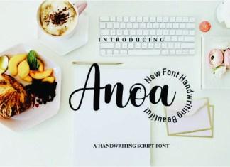 Anoa Font