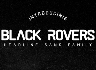 Black Rovers Family Font