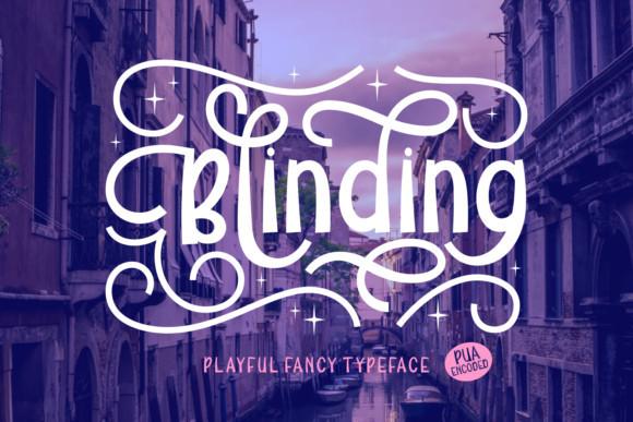 Blinding Font