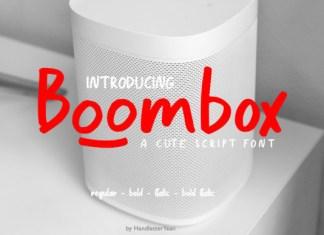 Boombox Font