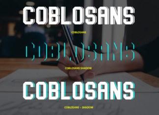 Coblosans Font
