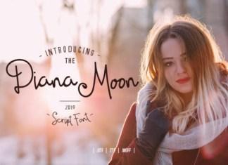 Diana Moon Font