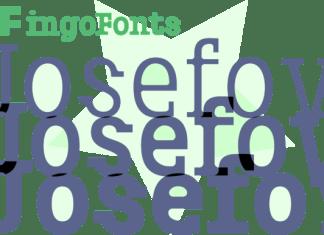Josefov Font