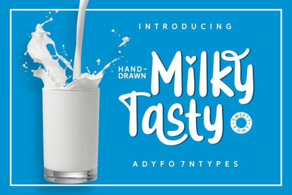 Milky Tasty Font