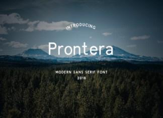 Prontera Font