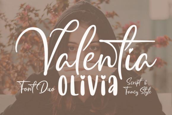 Valentia Olivia Font