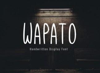Wapato Font