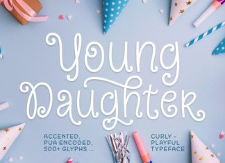 Young Daughter Font