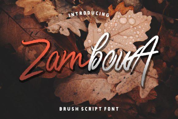 Zambowa Font