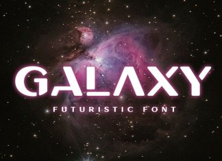 Galaxy - Unique Font