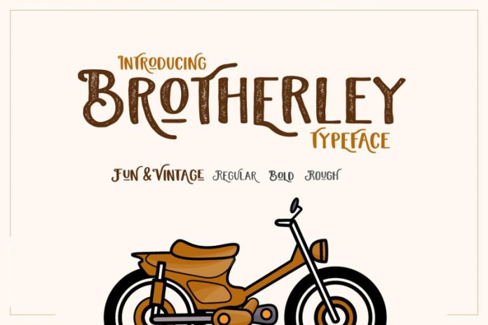 Brotherley Font