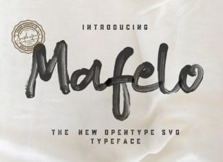 Mafelo SVG Font