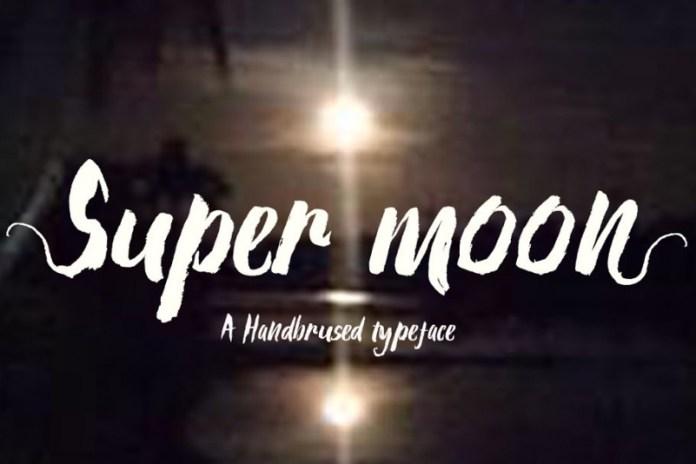 Super moon Font