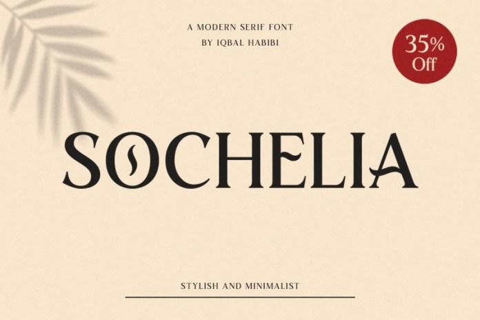 Sochelia - Modern Serif Font