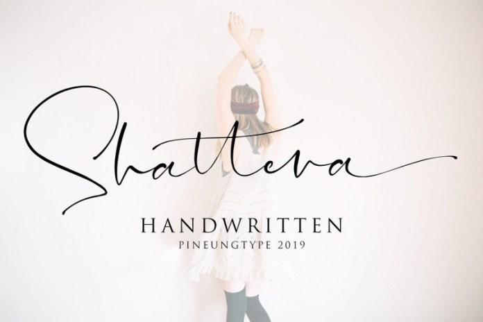 Shattera Font