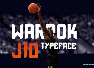 Warrok Display Font