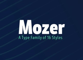 Mozer Font Family