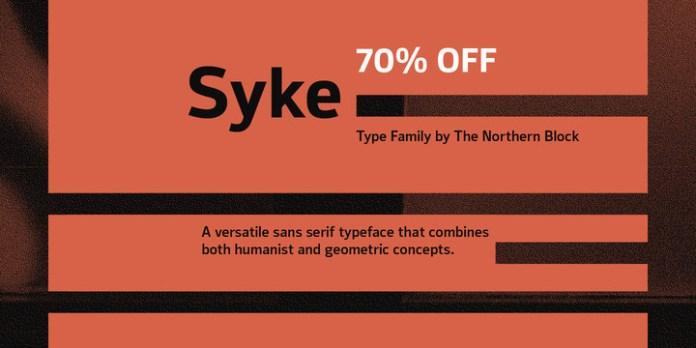 Syke Font Family