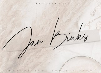 Jar Binks Latin & Cyrillic Font