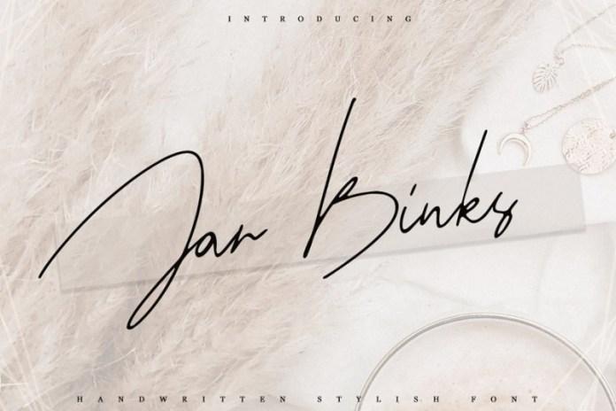 Jar Binks Latin & Cyrillic Font
