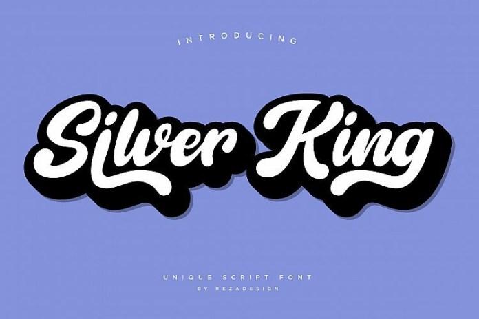 Silver King - Script Font