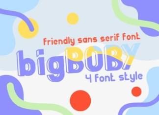 Big Boby Font