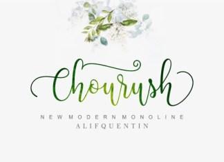 Chourush Font