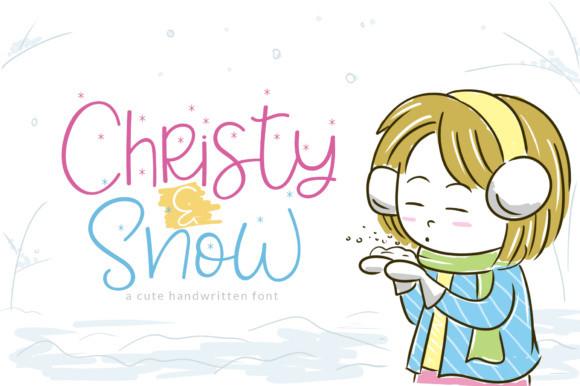 Christy & Snow Font