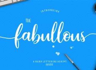 Fabullous Script Font