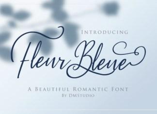 Fleur Bleue Font