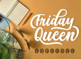 Friday Queen Font