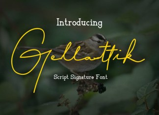 Gellattik Font