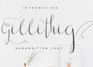 Gillithig Font
