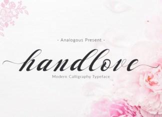 Handlove Font