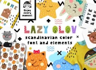 Lazy Olov Font