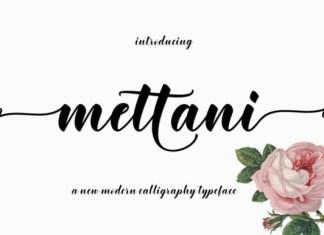 Mettani Font