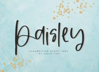 Paisley Font