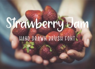 Strawberry Jam Font