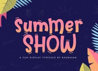 Summer Show Font