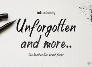 Unforgotten Font