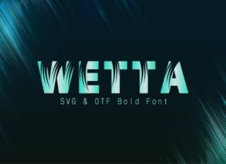 Wetta Font