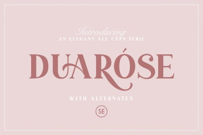 Duarose - An Elegant Serif Font
