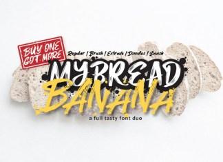 MyBread Banana Font Duo