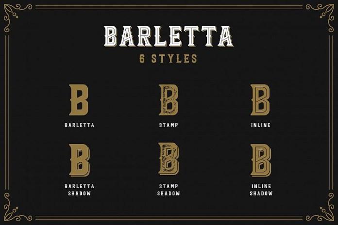 Barletta - Vintage Serif Font